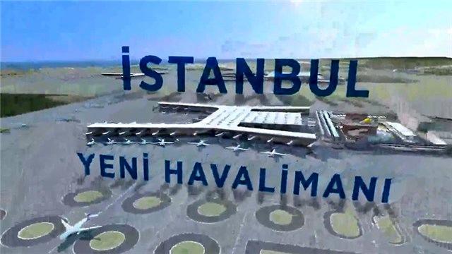 İşte İstanbul'un yeni havalimanı!