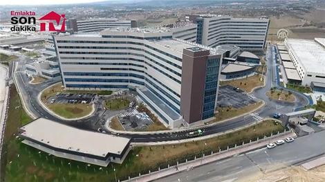 Mersin Şehir Hastanesi havadan görüntülendi