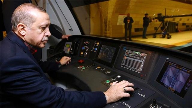 Cumhurbaşkanı, Pendik-Tavşantepe metrosunu açtı!