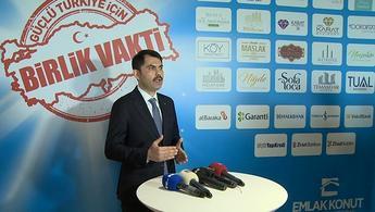 Murat Kurum, 20 yıl vadeli konut kampanyasını anlattı!