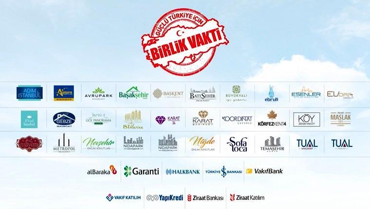 Emlak Konut'tan 'Güçlü Türkiye için birlik vakti' kampanyası!