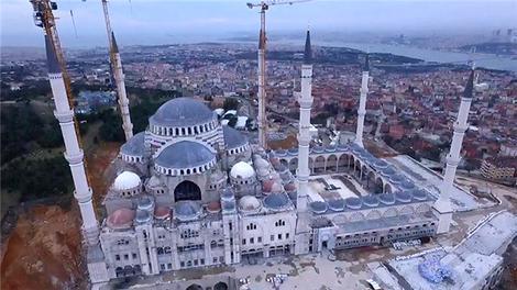 Çamlıca Camisi'nde sona geliniyor!