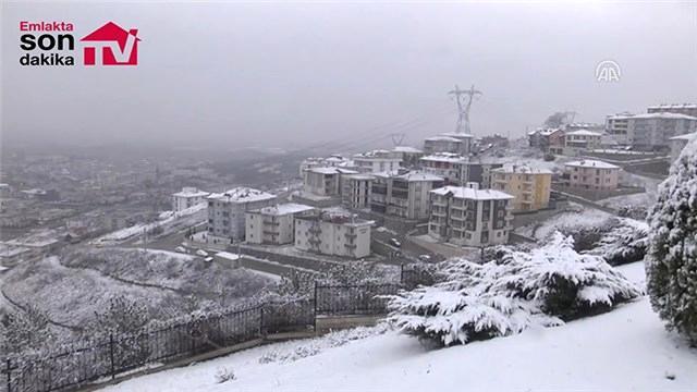 Sakarya'da kar yağışı etkili oluyor!