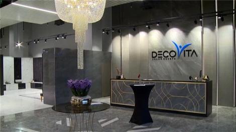 Decovita, ürünlerini dev showroomda sergiliyor'