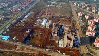 Evora Denizli'nin inşaatı tam gaz devam!