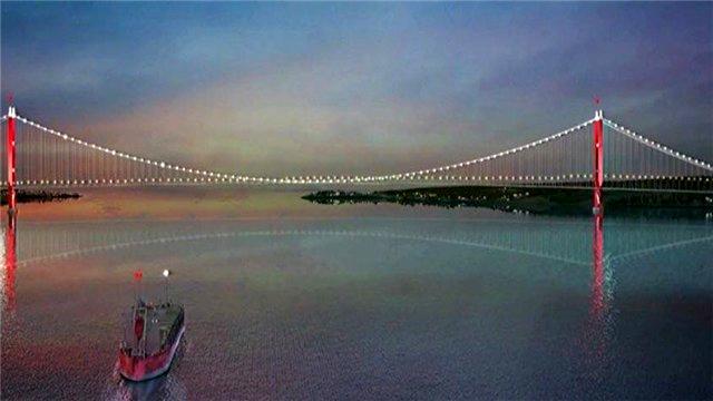 1915 Çanakkale Köprüsü'nden ilk görüntüler!