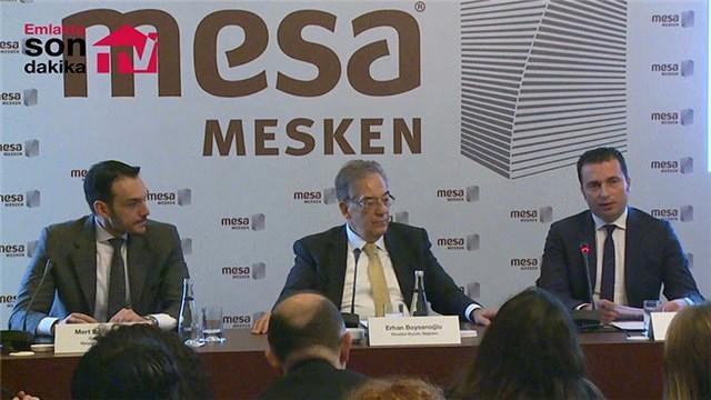 Mesa'dan 3,5 milyar liralık 6 yeni proje!
