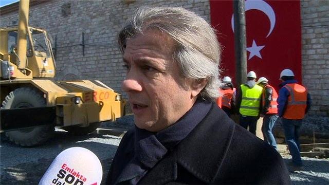Ahmet Misbah Demircan, Taksim Camisi'ni ekibimize anlattı!