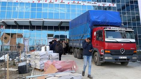 Erol Olçok'un ismi verilen hastanenin inşaatı tamamlandı