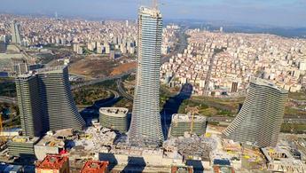 Metropol İstanbul'un havadan görüntüleri!