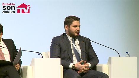 Serhan Çetinsaya, 4. Kentsel Dönüşüm Kongresi'nde konuşma yaptı