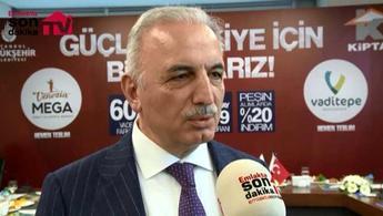 İsmet Yıldırım, KİPTAŞ'ın yeni kampanyasını anlattı