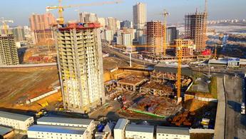 Nidakule Ataşehir'in inşaatı havadan görüntülendi!