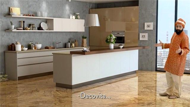 Sırlı porselenin yeni markası Decovita, Hindistan'da!
