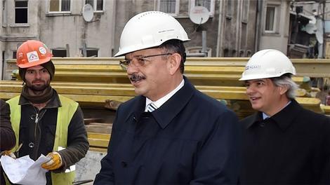 Mehmet Özhaseki, Tarlabaşı kentsel dönüşüm projesinde!