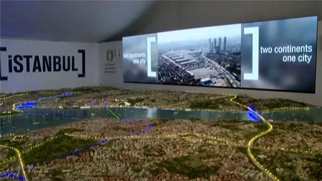 MIPIM'deki İstanbul Çadırı'nda mega projeler tanıtıldı