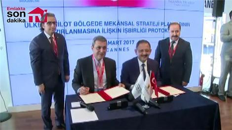 Mehmet Özhaseki ve İbrahim Çağlar protokol imza töreni!
