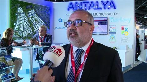 Mehmet Urcu, MIPIM'de ekibimize Antalya projelerini tanıttı