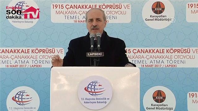 'Türkiye'yi Avrupa'ya, Avrupa'yı Türkiye'ye bağlayan bir proje'