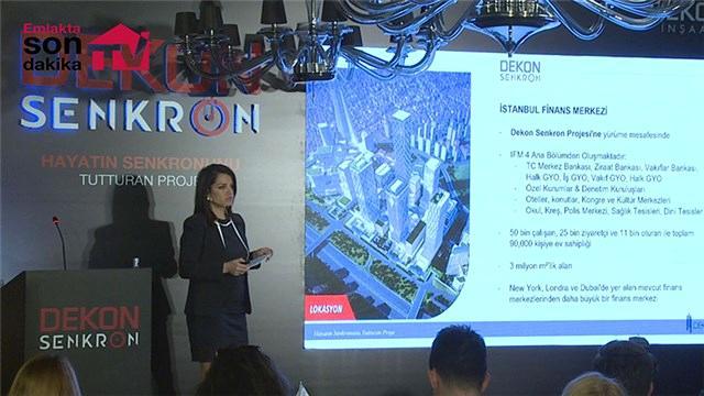 Seda Hercan, Dekon Senkron'un detaylarını açıklıyor!