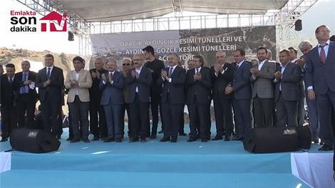 Antalya Sahil Yolu Tüneli açıldı!