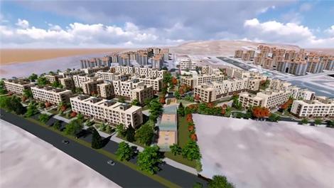 TOKİ'den Konya'ya 'yatay mimari'li konut projesi!