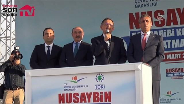 Nusaybin'de 4 bin 600 bağımsız birimin temeli atıldı