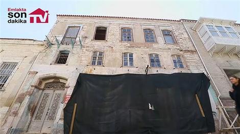 İzmir'deki taş evler moda oldu!