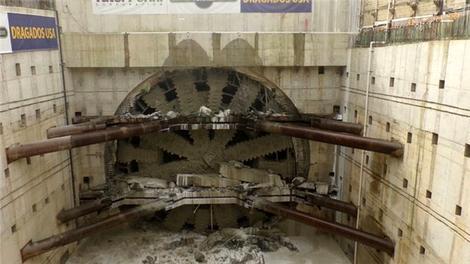 İşte dünyanın en büyük delme makinesi!