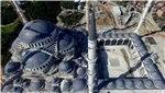 Çamlıca Camisi'nde inşaat son hız ilerliyor