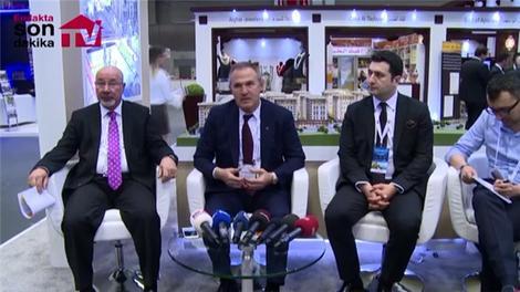 Artaş İnşaat, Expo Turkey by Qatar'da basın toplantısı düzenledi