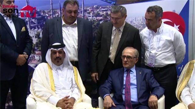 Aziz Torun, Towar Al Kuwari ile ortak basın toplantısı düzenledi