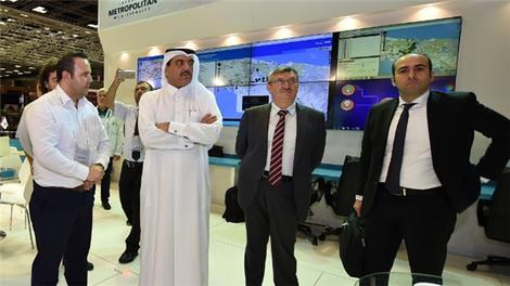 Katarlı Bakan Al Rumaihi'nin Expo Turkey ziyareti