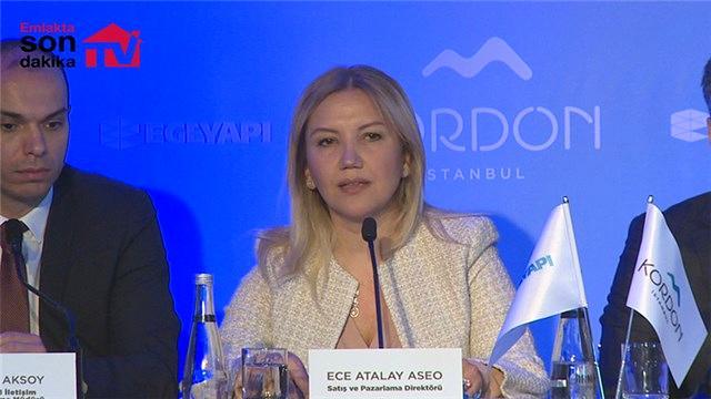 Ece Atalay Aseo, Kordon İstanbul projesini anlattı!