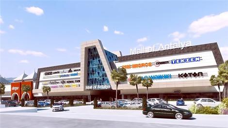 Mall of Antalya AVM hizmete açıldı!