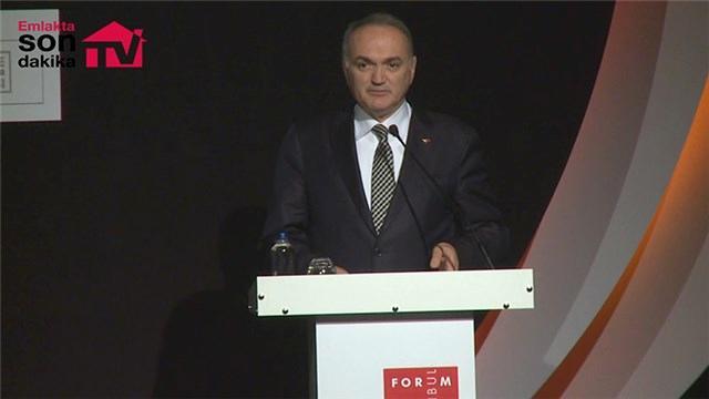 Bakan Faruk Özlü, Forum İstanbul 2017'de!