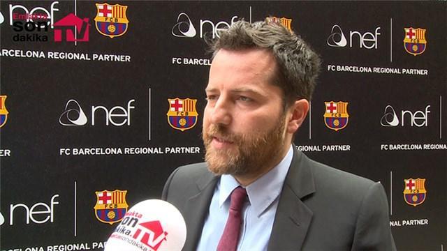 Erden Timur, Nef'in Barcelona'ya sponsorluğunu anlattı!