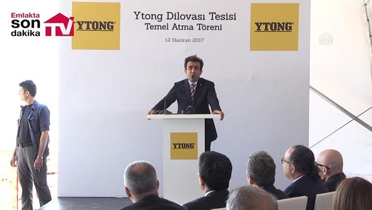 Türk Ytong Dilovası fabrikasının temeli atıldı