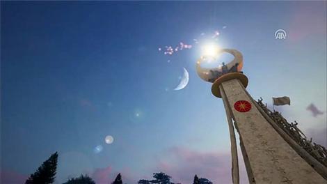 İşte Ankara'daki 15 Temmuz Şehitler Anıtı!