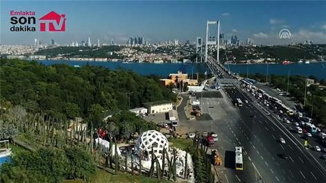 15 Temmuz Şehitler Anıtı görüntülendi!