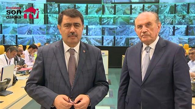Kadir Topbaş ve Vasip Şahin'den yağmur açıklaması!