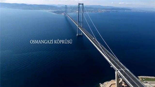 Gebze-Bursa otoyolu havadan görüntülendi!