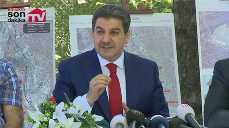 Esenler'de kentsel dönüşümle 74 bin konut yenilenecek!
