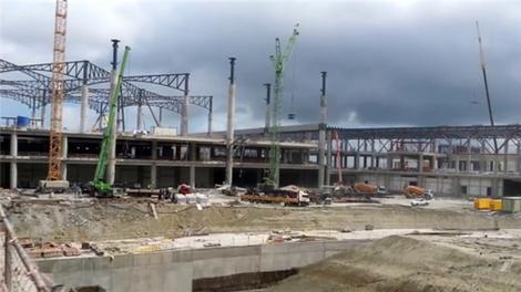 3. Havalimanı'nın inşaatında son durum!