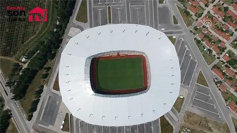 Eskişehir Stadı bir açıldı pir açıldı