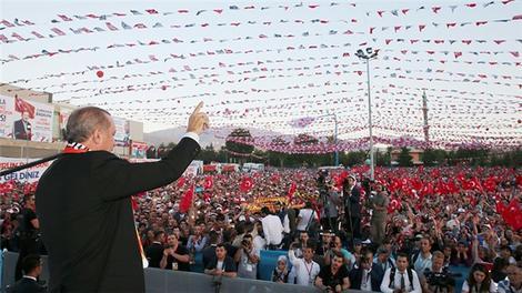 Cumhurbaşkanı Erdoğan: ''Stadın hakkını vereceğine inanıyorum''