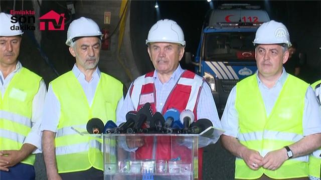 Mecidiyeköy-Mahmutbey metro hattının tünel kazı işlemi sona erdi
