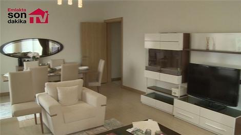 TOKİ Kayaşehir konutlarının 2+1 örnek dairesi!