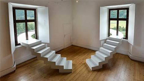Birbirinden ilginç merdiven tasarımları!