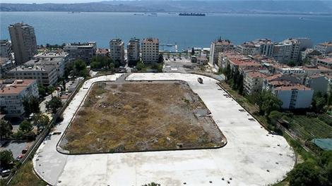 İzmir'deki yapılacak statlar havadan görüntülendi!